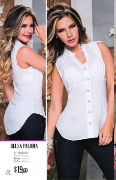 White Fashion, Girl Fashion, Fashion Dresses, Blouse Styles, Blouse Designs, Sewing Blouses, Shirt Refashion, Couture Tops, Weekend Style