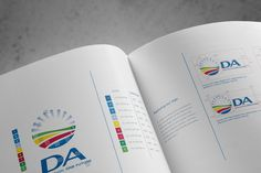DA (Democratic Alliance) Brand Refresh by Volcano Design, via Behance Democratic Alliance, Brand Icon, Volcano, Identity, Behance, Logo, Design, Logos