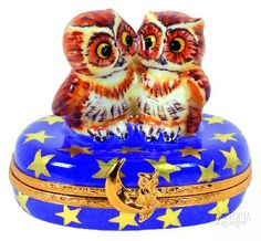 - Pair of Night Owls - Limoges