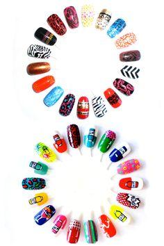 Nail Art Ideas & Design Pictures – 2013 Tips & Tricks (Glamour.com UK)