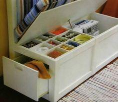 Идеи организации хранения вещей на балконе