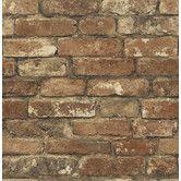 "Found it at Wayfair - Gentlemen's Quarters Oxford 33' x 20.5"" Brick Wallpaper"