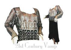 1930s Assuit Blouse. 1920s Assuit. Tulle Bi Telli.  Vintage by 21stCenturyVamp