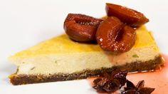Aneta Goes Yummi: VIDEORECEPT: Perníkový cheesecake so slivkovou omáčkou (jeden z najlepších, aké som kedy jedla)