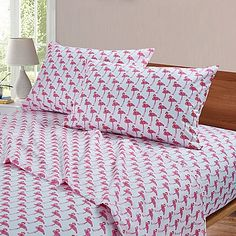 Flamingo sheets for guest bedroom - $34.99