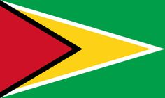 General knowledge quiz questions and answers on Guyana (British Guiana). Guyana is a state in South America. Guyana means 'land of many waters'. Flags Of The World, Countries Of The World, Albania, South American Flags, Whitney Smith, Guyana Flag, Geography Quiz, Mount Roraima, Venezuela