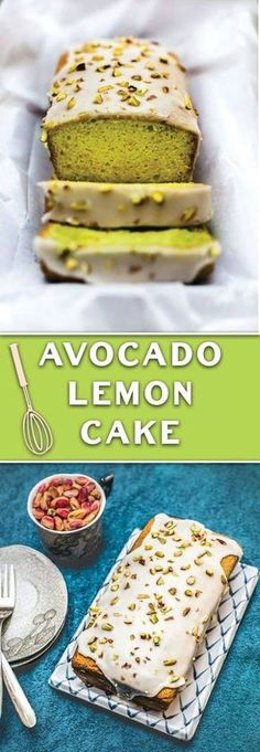 AVOCADO LEMON CAKE | Cake And Food Recipe
