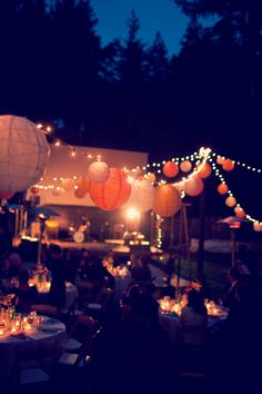 backyard party lighting ideas. lanterns for nighttime lighting backyard party ideas t