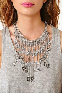 nasty gal. treasure trove #necklace.