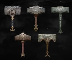 ArtStation - Weapons, Yefim Kligerman