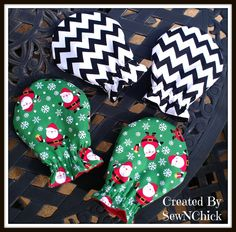 Custom Medical Stirrup Covers by SewNChick on Etsy