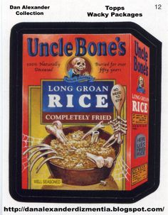 Horror wacky packages   ... And Universal's Halloween Horror Nights, Sponsored By Wacky Packages
