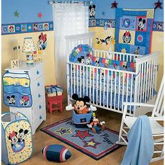 Beau How To Decorate Mickey Mouse Baby Nursery Bedroom   Mickey Mouse Nursery
