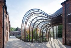 Thomas Heatherwick's new gin distillery  Gin brand Bombay Sapphire′s new distillery is housed within a former water-powered paper mill. (Photo: Iwan Baan)