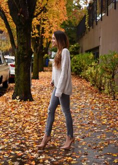 Jessica Ricks Outfit details: Express Sweater and Jeans