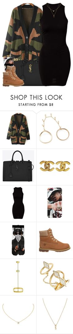 """Happy Thanksgiving!!"" by oh-aurora ❤ liked on Polyvore featuring moda, Shay, Yves Saint Laurent, Chanel, River Island, Timberland, stella valle y Rebecca Minkoff"