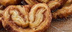 Kaneelvlinders - Heerlijk krokant koekje van bladerdeeg dat je in een handomdraai hebt gemaakt. Een echte aanrader!