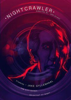 Nightcrawler Jake Gyllenhaal Movie (2014) Alternate Movie Poster, Digital Art