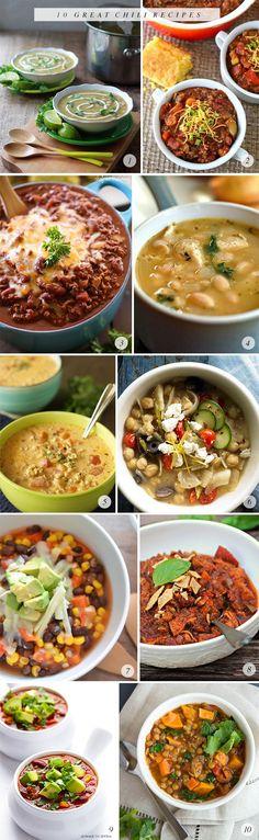 10 Great Chili Recipes