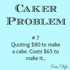 This happens all the time! Either the cake board costs $20, or you need to buy a special tool to make the cake. It never fails lol.. #cakerproblems #cakestyle www.youtube.com/user/cakestyletv