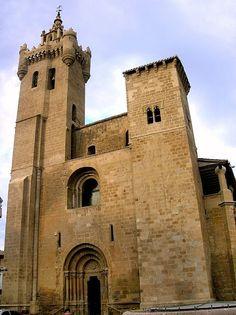 Zaragoza Ejea de los Caballeros - Iglesia de San Salvador