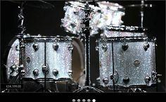 crystallized drum kit
