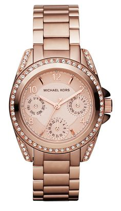 rose gold micheal kors