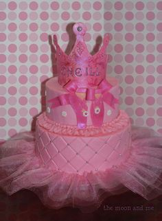 ballet princess party cake!