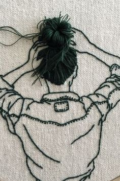 Ribbon Embroidery Patterns Interview With Model and Embroidery Artist Sheena Liam Hand Embroidery Videos, Creative Embroidery, Hand Embroidery Stitches, Silk Ribbon Embroidery, Crewel Embroidery, Embroidery Hoop Art, Hand Embroidery Designs, Cross Stitch Embroidery, Embroidery Ideas