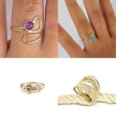 #jewelry #rings #stackablerings #bohoring #uniquerings #womensring #goldringsforwomen #adjustablering #bohemianchic #goldrings #ringsforgirls #amethystring #purplering #adjustgoldring #14kgoldring #realgoldring #14kgoldring #solid14kring #promisering #engagementring #realgoldring