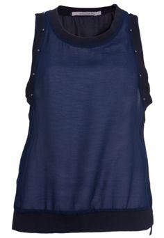 Regata Shoulder Tachas Azul - Compre Agora | Dafiti