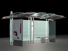Dubai Introduced World`s First Bus-Stop Design