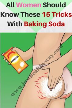 All women should know these 15 tricks with baking soda - Just Healthy Way