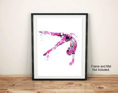 Your place to buy and sell all things handmade Gymnastics Bedroom, Gymnastics Gifts, Front Office, Gymnasts, Diy Wall Art, Girl Room, Sewing Ideas, Gallery Wall, Printables