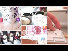 Que faire avec du Washi Tape ? 10 DIY! | 10 ways to use Washi Tape ! - YouTube