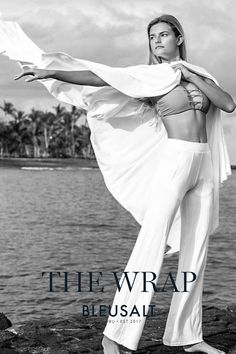 Embrace the BLEUSALT lifestyle of softness with this full length extra wide wrap. Sustainable Clothing, Sustainable Fashion, Wrap Style, My Style, Norma Jeane, Flappers, Outerwear Women, Fashion Outfits, Womens Fashion