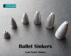 Worm or Bullet Sinkers (as they are also known) provide anglers with a streamlined shape, smooth sides and an anti-snag design that makes these sinkers easy to use, enabling subtle presentations, and are ideal for working weedy cover easily.