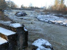 Koskivoimaa,etualalla entisen myllyn portaat River, Outdoor, Outdoors, Outdoor Games, The Great Outdoors, Rivers