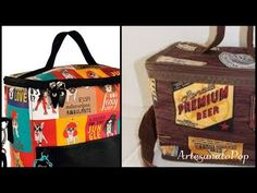 Como Fazer : Bolsa Térmica - Prática e Fácil de Vender - YouTube Patchwork Tutorial, Quilted Bag, Craft Work, School Bags, I Am Awesome, Sewing Projects, Crafts For Kids, Lunch Box, Patches