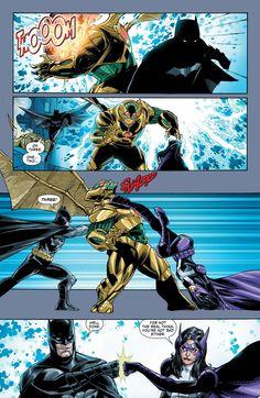 Huntress (Helena) & Batman (Dick)