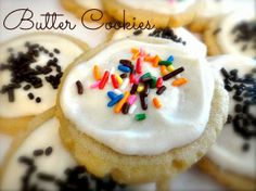 Butter Cookies recipe from House of Sprinkles