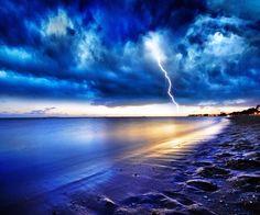 青の栄光 自然の力 自然 高解像度で壁紙