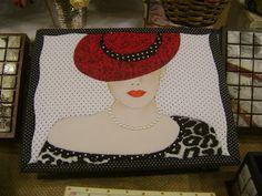 Mosaicos Eliane Amorim: Patchwork Embutido - caixa para jóias
