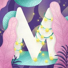 36 days of type 2018 - Letters on Behance Photoshop Design, Adobe Photoshop, 36 Days Of Type, Printable Letters, Typography, Lettering, Children's Book Illustration, Color Theory, Illustrators