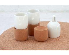 wiid design - cork and ceramic glass