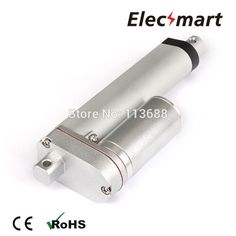 49.88$  Watch here - http://ali4ty.shopchina.info/go.php?t=32674515643 - DC12V 150mm/6in Stroke 500N/110Lbf Load Force 20mm/s No-Load Speed Linear Actuator 49.88$ #shopstyle