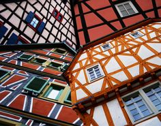 Timbered houses in Ladenburg