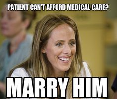 Teddy Altman logic. Grey's Anatomy Memes