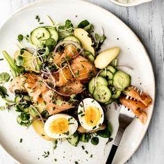 Avec des oeufs, c'est toujours mieux! - K pour Katrine Salsa, Food Inspiration, Ramen, Ethnic Recipes, Foods, Apples, Kitchens, Food Food, Food Items