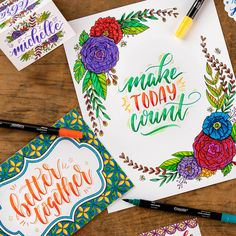 Signature Series from Crayola: Crayoligraphy | Adult Coloring | Calligraphy | Artist Tools | Gifts